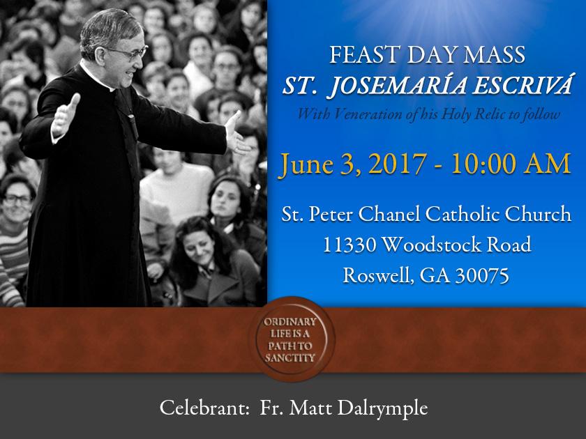 Feast Mass Roswell GA